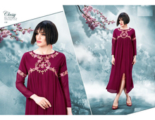 kurtis and tunics Indian Ethnic Designer Women's Top Georgette material for exports