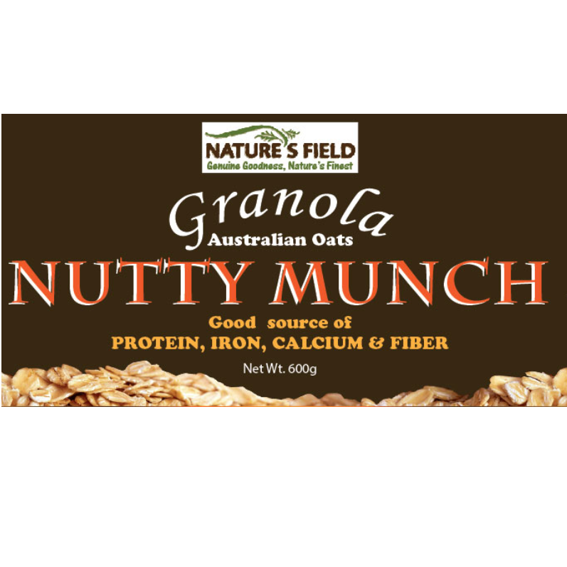 Wholesale Singapore Food Rolled Oats Premium Nuts Nutty Munch Granola