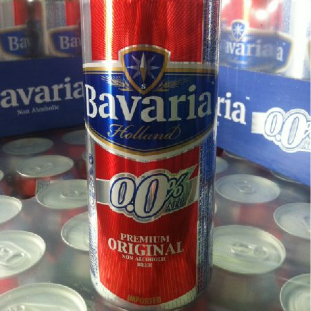 Bavaria Malt 0.0% Non Alcohol Beer 330ml Available
