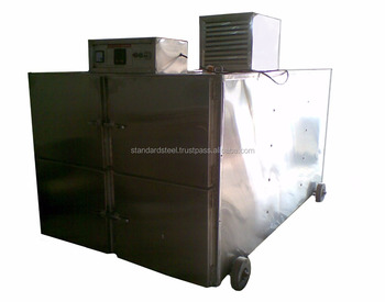 stainless steel 4 body Morgue Cabinet