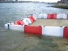 Floodstop flood barriers - supplied in 1-metre long section for flood defence