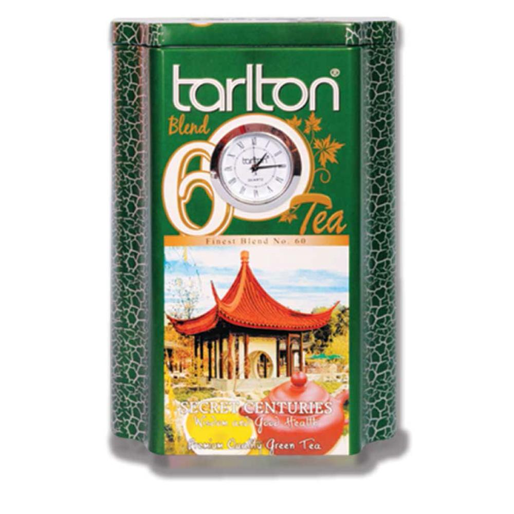 Premium Ceylon Green Tea OPA in Tin - Leafy Tea - Tarlton Real Time Teas Tin Collection