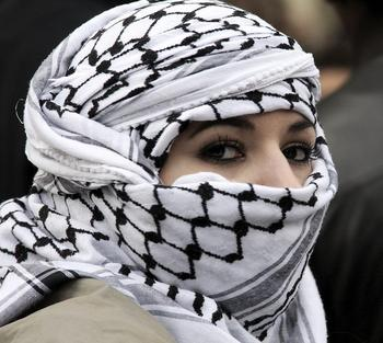 Fashion Arab Shemagh Grid Neck Keffiyeh-Scarf-Wrap-