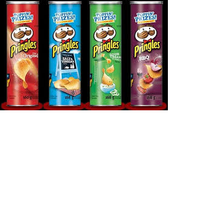 Pringles 165grm With Arabic Text