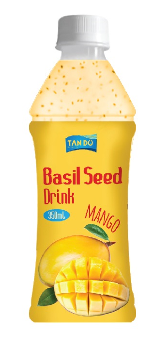 Tan Do Beverage Co. Ltd, Vietnam Fresh Mango Basil seed drink