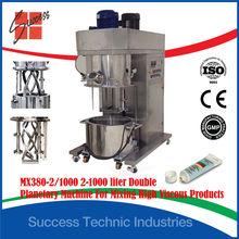 MX380-2 planetary high viscosity putty glue mixing making machine