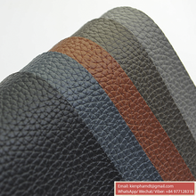 PVC artificial leather for sofa stocklot, pvc synthetic leather for furniture and bag
