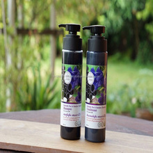 Butterfly pea & Bamboo Charcoal Shampoo & Conditioner 100% Organic