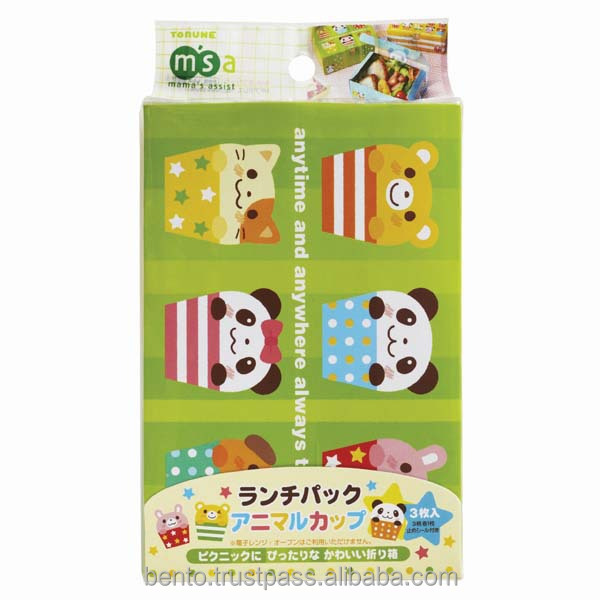Japan Design Paper Box Kids Lunch Kids Party packaging boxes Disposable
