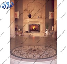 beige stone hearth continental fireplaces