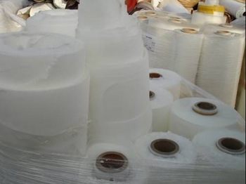 EVA plastic scrap film/roll