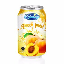 Natural Peach Fruit Juice, not from concentrate in Private Label