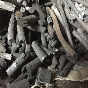 White Binchotan charcoal for BBQ from Vietnam