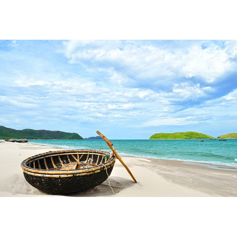 Bamboo Coracle from Viet Nam