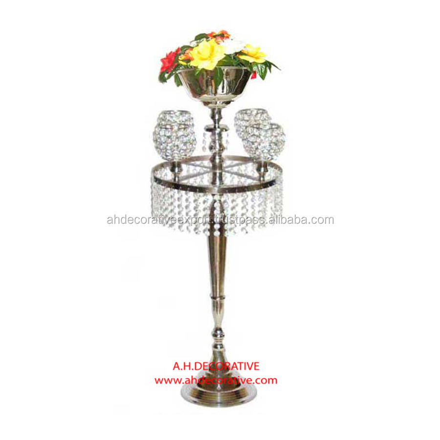 Candelabra 5 Candle With Detachable Crystal Ball