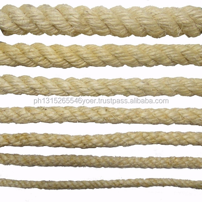 Natural sisal rope and manila rope supply directly from factory