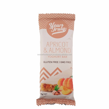 Yours Truly Apricot and Almond Yogurt Bar - Gluten Free