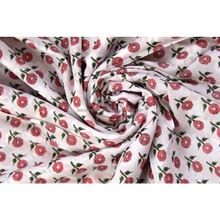 floral print hand block cotton fabric