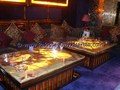 Top Quality Luxury colorful BACKLIT ONYX TABLES DINNG TABLE COFFEE TABLES