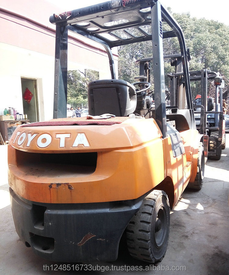 used/second hand Toyota 3 Ton forklifts price for sale