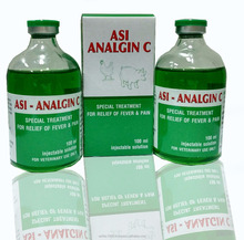 GMP, Analgin + Vitamin C injection for veterinary medicine/poultry/livestock/animal < ASIFAC>