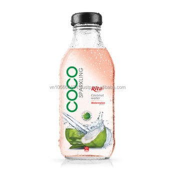 Pomegrante flavor Sparkling Coconut Water
