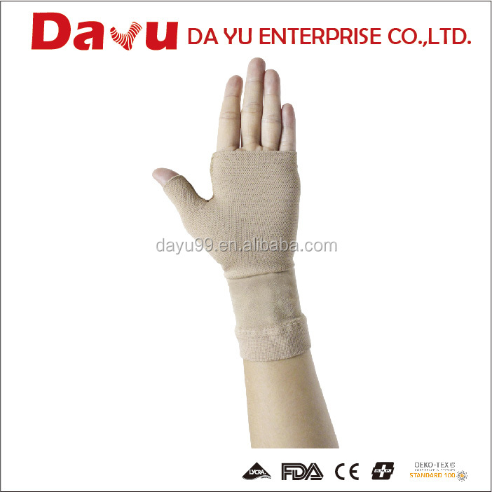 Medical Lymphedema gauntlet compression plam support Taiwan produced