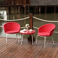 Karnia Terrace Chair-Red Color ; Suitable for Your Terrace Area