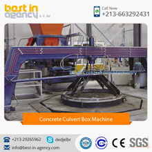 High Quality Concrete Pipe/Culvert Box Making Machine