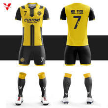 100% polyester football shirt online store soccer wear full sublimation soccer uniforms customized soccer jersey