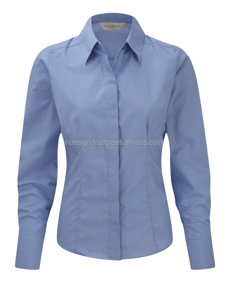 ladies formal shirt design