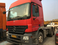 Used 55 ton load Benz tractor truck with cheap price