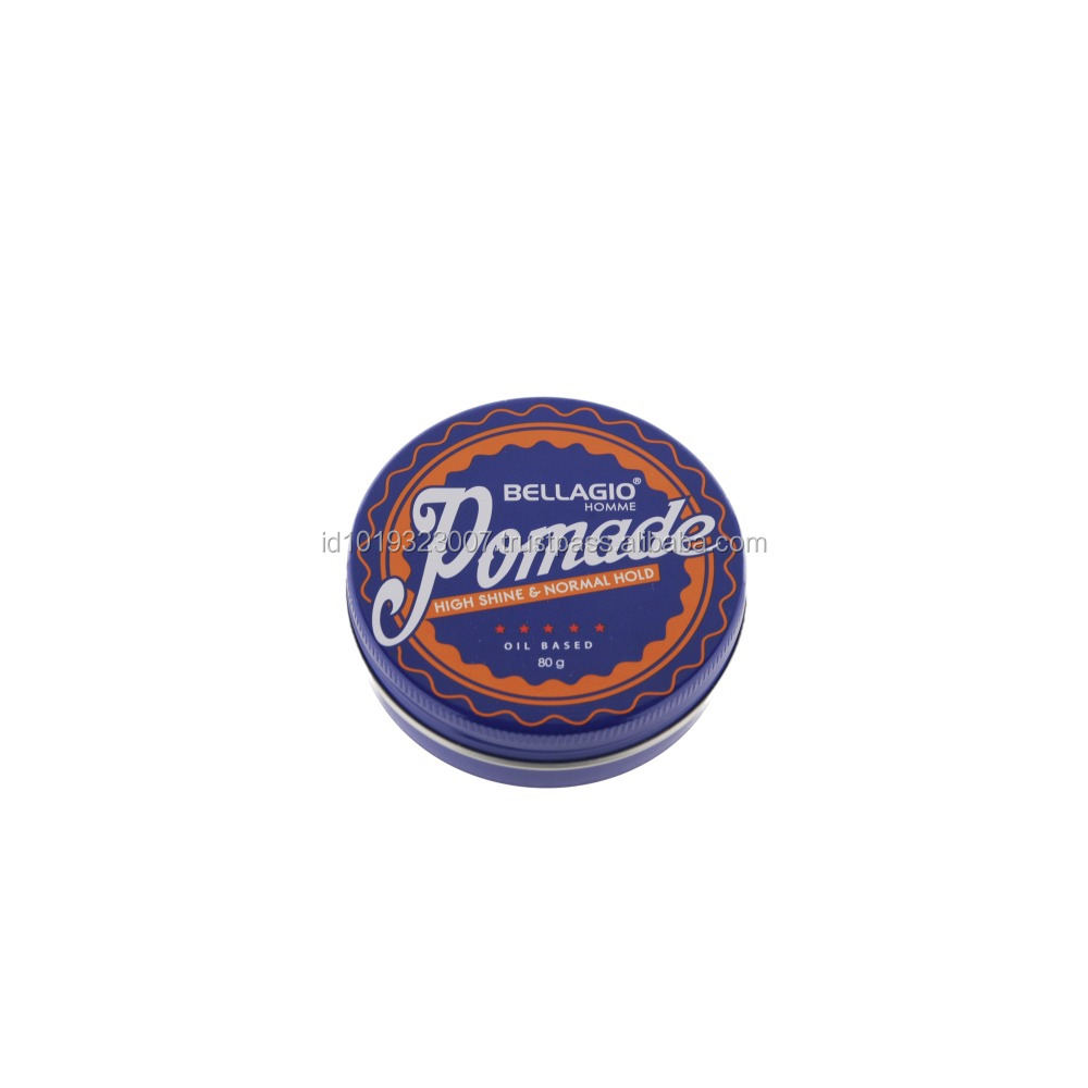 Custom LOGO Small Round Metal Can for Pomade