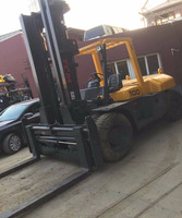 Cheap price used TCM forklift 10 ton capacity fd100 for sale