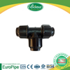 PN16 D20 mm equal tee HDPE and PPR fittings/ Pipe joint system compression fitting PE for drainage and sewage system