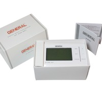 7 Day Programmable RF Wireless Digital Room Thermostat With Economy-Comfort-Party Modes