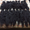 Unprocessed Virgin Indian Hair Piece,Human Hair Weft 100% Natural Virgin Indian Remy Temple Hair, Indian Remy Virgin Natural