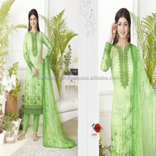 Modern Beautiful Fashion Indian and Pakistani Woman Wear Embroidery Designer Straight Suits