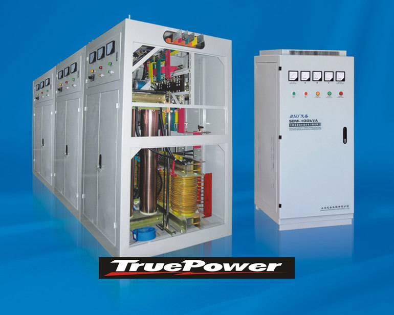 Industrial Stabilizer Three Phase 10 - 1000KVA