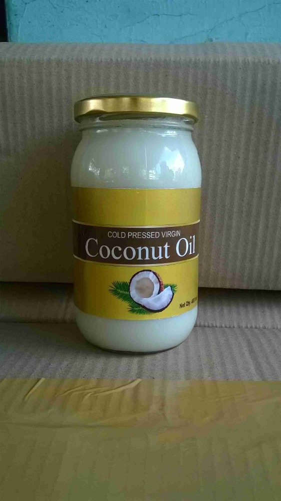 Glass Bottle Packaging and Fruit Oil Product Type Virgin Coconut Oil