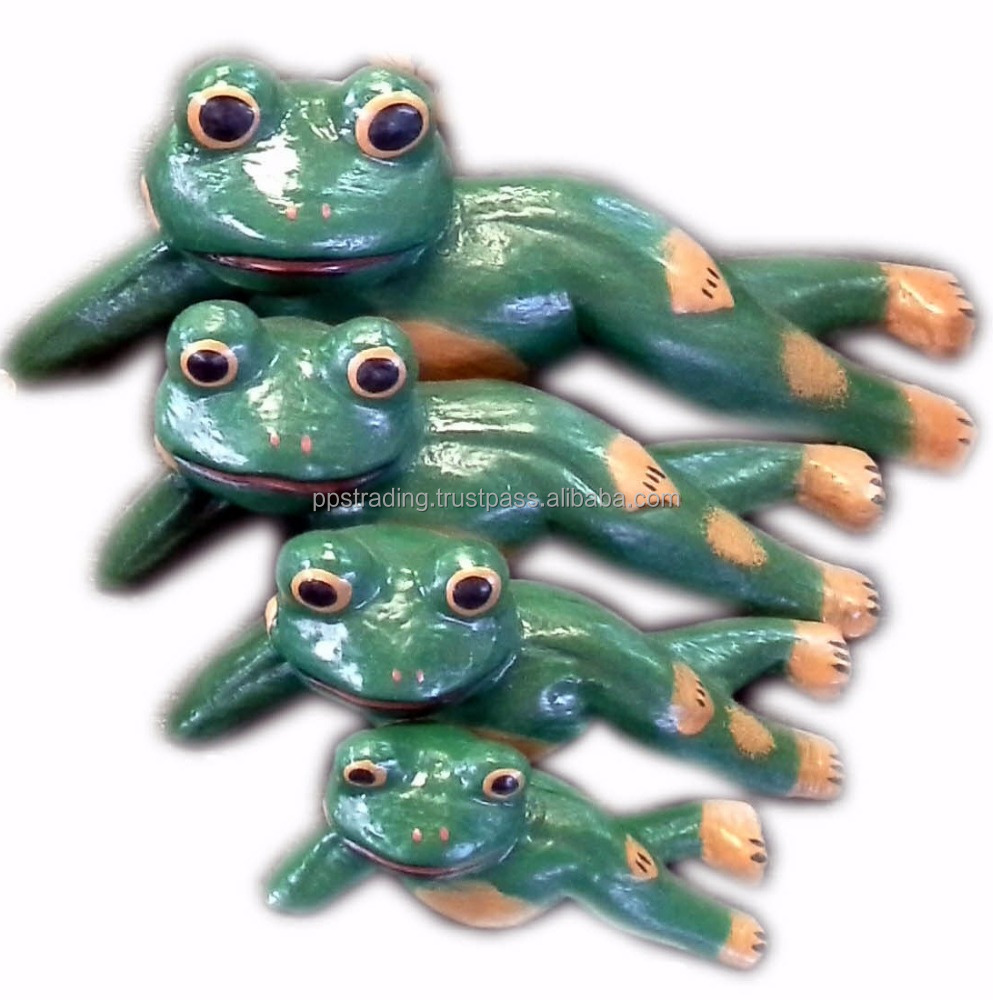 Wood Frog figurine
