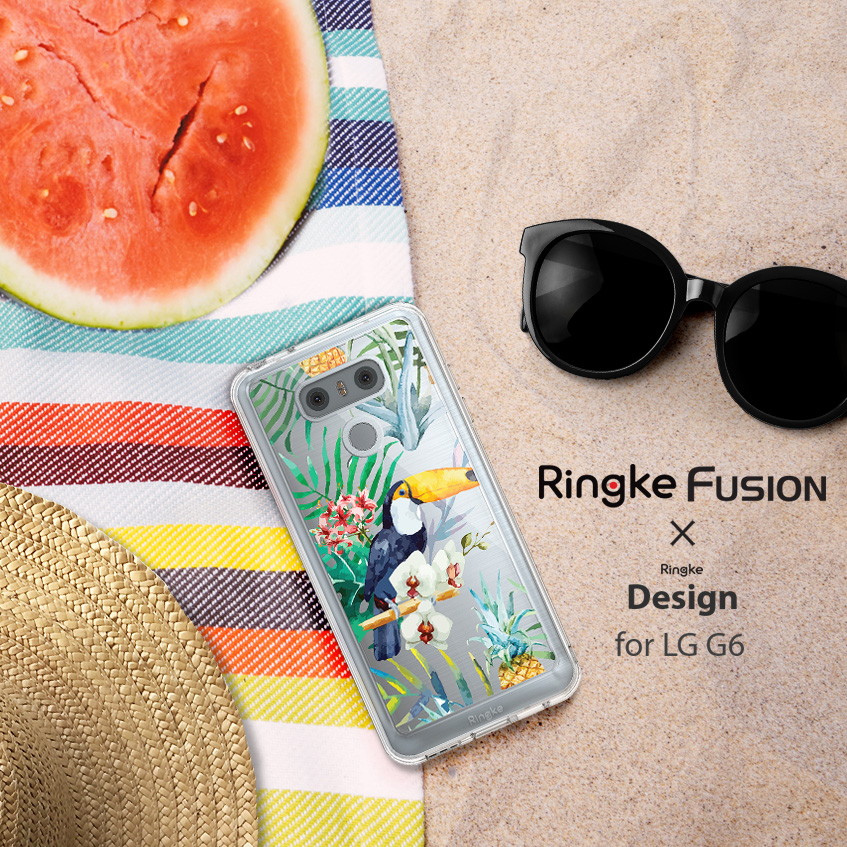 [Ringke] Ringke Fusion Design - Smart Phone Case for G6