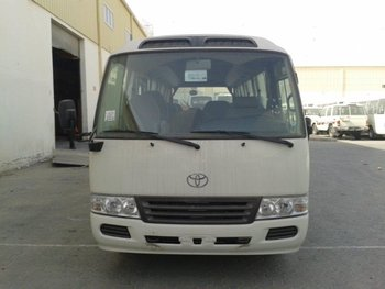 TOYOTA COASTER 2.7L STD ROOF 30 SEATER - 2016