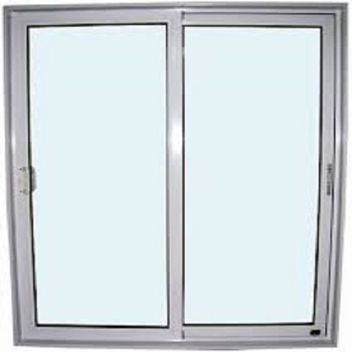 Double glazed aluminium extrusion profile window frame and glass for sale