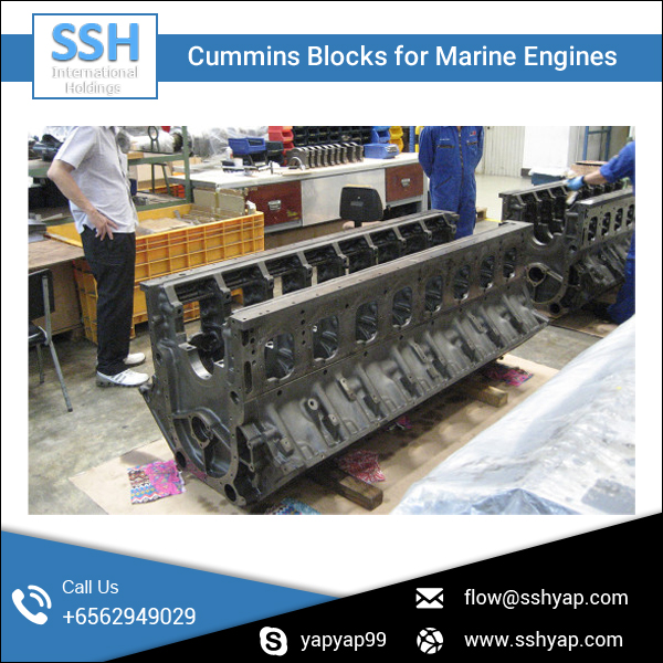 Diesel Marine Engine Block/Diesel Engine Parts at Affordable Rate