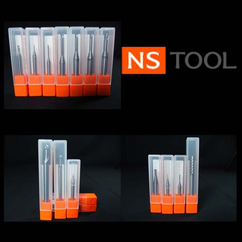 NS TOOL SSPB220 CBN Ball endmill for hard material