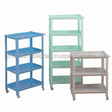 Cosmetic Plastic display / PVC board display rack / retail store displays