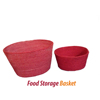 2018 hot sale Pet Bowl Jute Food Basket