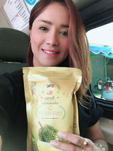 Original Thai Freeze Dried Durian - Thai Durian , Thai Fruit 50g.