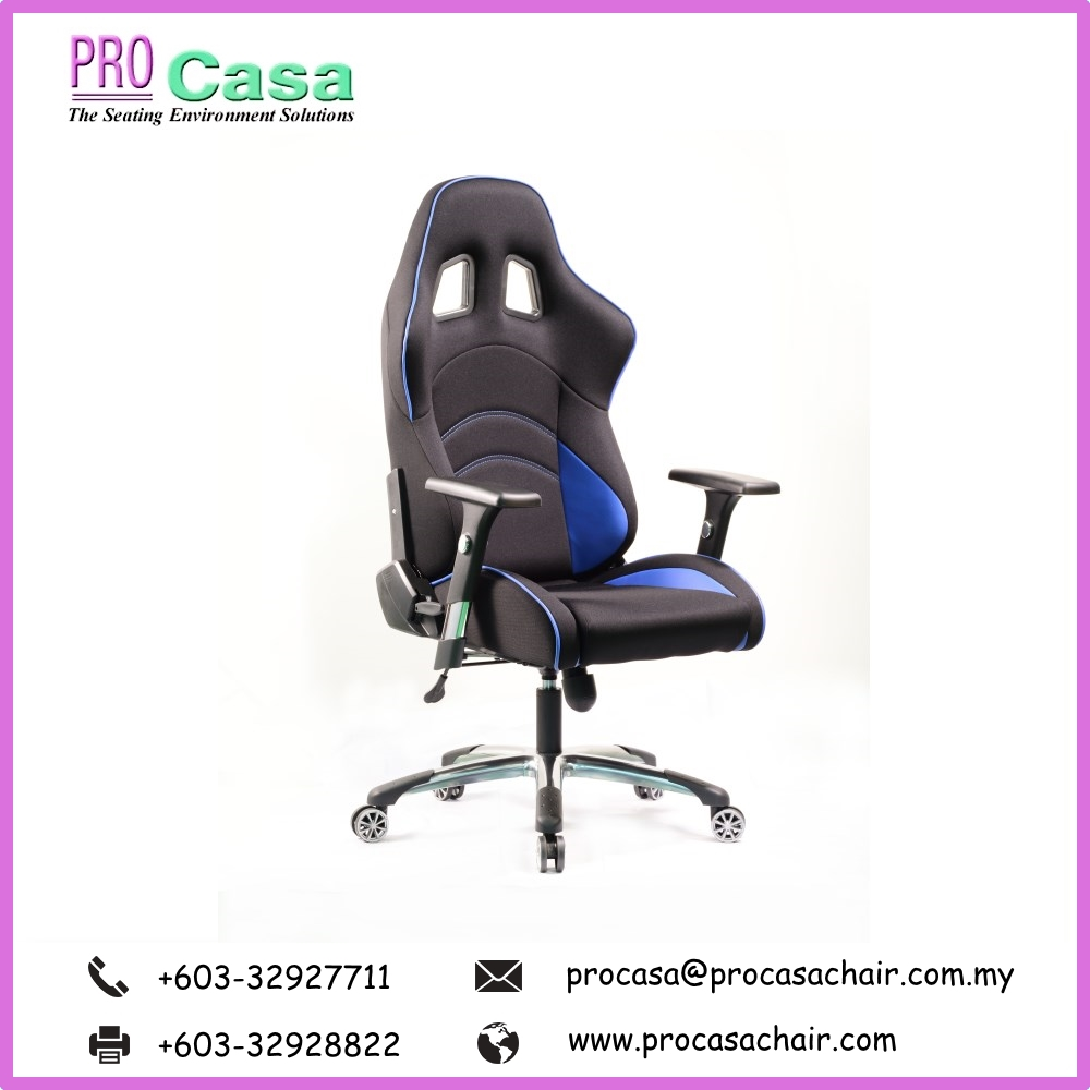High Back PU Computer PRO G-DW-B Pc Gaming Office Chair furniture Malaysia